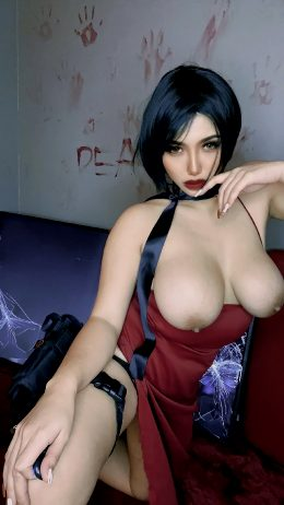 Ada Wong From Resident Evil By Ariaboobie