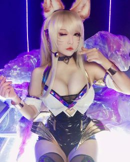 Ahri K/DA From League Of Legends By Chihiro