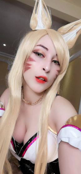 Ahri KDA From LOL By Alicekyo