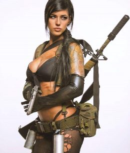 Alex Zedra Quiet From MGS5