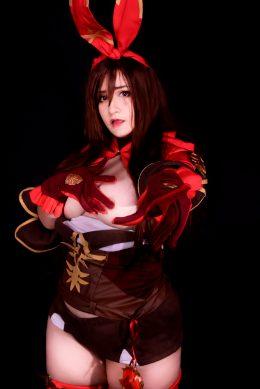 Amber – Genshin Impact By Natsumi Louise Cosplay