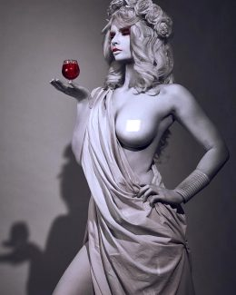 Ancient Greek Statue By Jannetincosplay