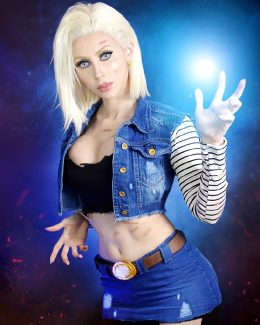 Android 18 By Adami Langley