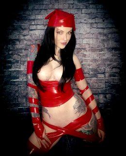 Anna Quinn As Elektra From Marvel Comics