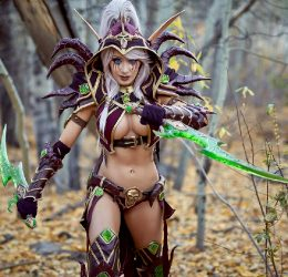 Another Vileblade Valeera From WoW By Kate Sarkissian