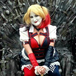 Arkam City Harley Quinn By PrincessJazzCosplay