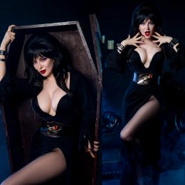 Ashlynne Dae As Elvira Mistress Of The Dark