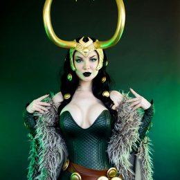 Ashlynne Dae As Lady Loki