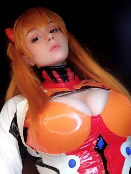 Asuka Cosplay From Neon Genesis Evangelion