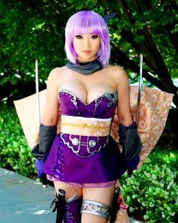 Ayane From DOA Series By Yaya Han