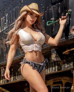 Azura As A Cowgirl