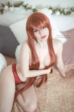 Be A Good Boy And Stay At Home With Kurisu! By Kanra_cosplay