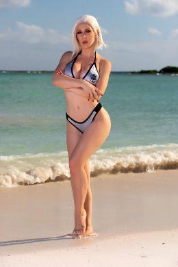 Bikini Android 18 By Kristen Hughey