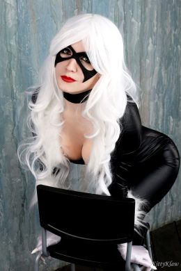 Black Cat By ASMR KittyKlaw