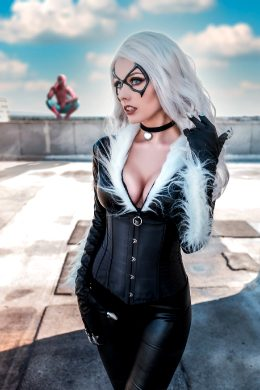 Black Cat By Rolyat