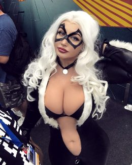 Black Cat By Sofia Sivan