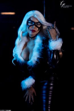 Black Cat Cosplay By Nooneenonicos