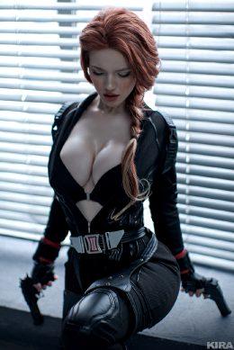 Black Widow By Lada Lyumos