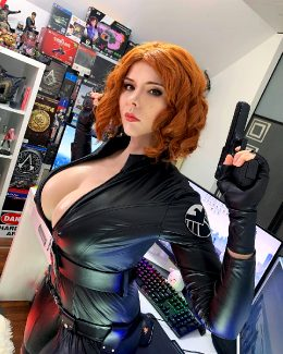 Black Widow Cosplay By Xkalty