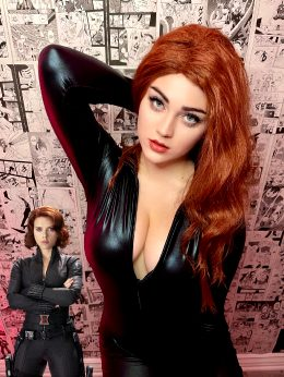 Black Widow Costest By Buttercupcosplays