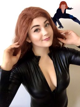 Black Widow From The Avengers By Buttercupcosplays