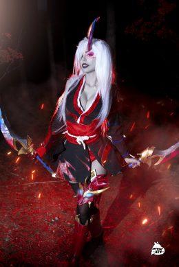 Blood Moon Katarina By Kate Key Cosplay