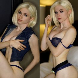 Boudoir Android 18 By Amouranth
