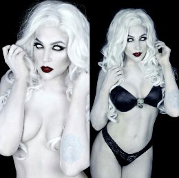 Boudoir Lady Death By Nicole Marie Jean