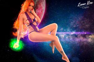 Boudoir Starfire By Luna Rae Cosplay