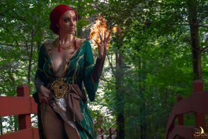 Boudoir Triss Cosplay From The Witcher 3 By LunaRaeCosplay