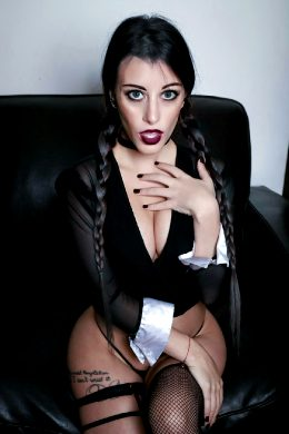 Boudoir Wednesday Addams By Dani Sciacca