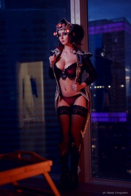 Boudoir Widowmaker By HellyVon Valentine