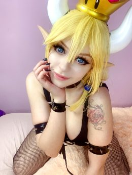 Bowsette From Super Mario By Lil Katt