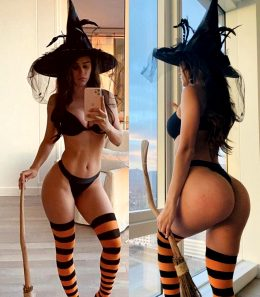 Bruja De Halloween By Weather Correspondent Yanet Garcia