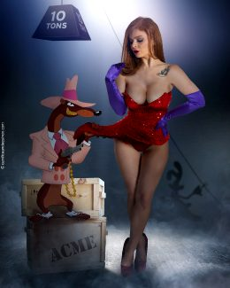 Candice Elizabeth As Jessica Rabbit