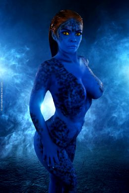 Candice Elizabeth As Raven Darkholme AKA Mystique