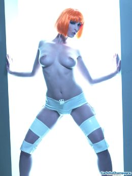 Carlotta Champagne / Nude Leeloo Cosplay
