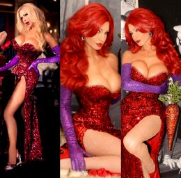 Cassandra Cass As Jessica Rabbit
