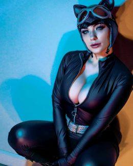Catwoman By Jennifer Van Damsel