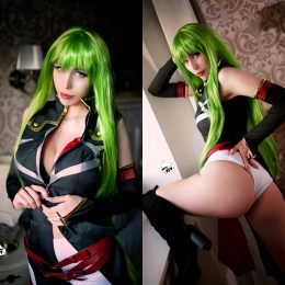 CC's Panties Are So Thin~ Cosplay By Kate Key