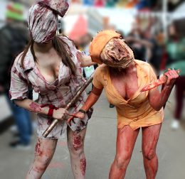 Chloride & MarinaSherbet As Silent Hill Nurses