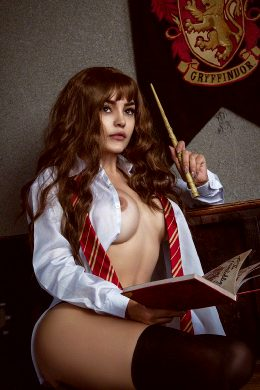 Christina Fink As Hermione