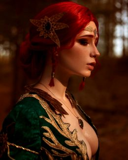 Christina Volkova As Triss Merigold, The Witcher