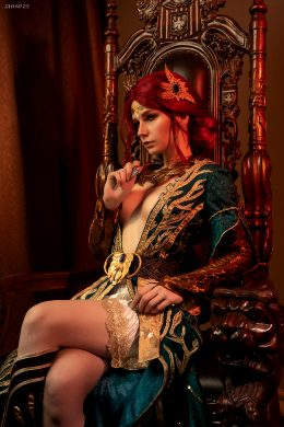 Christina Volkova As Triss Merigold