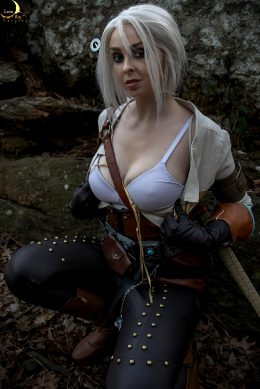 Ciri EroCosplay By Lunaraecosplay