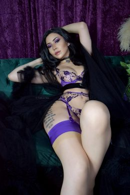 Contemporary Yennefer Boudoir Concept From The Witcher 3 By Felicia Vox