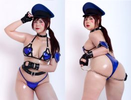 D.Va Police Cosplay Based On The Art Of Logancure By UyUy