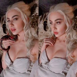 Daenerys Targaryen Cosplay From Game Of Thrones By Felicia Vox