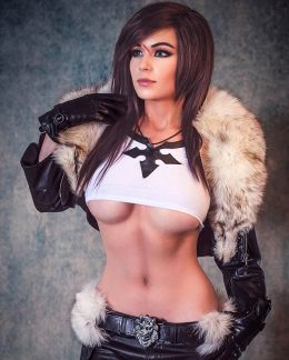 Danielle Beaulieu As Gender Bend Squall Leonhart