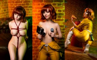 Disharmonica As April O'Neil